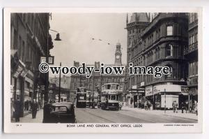 tp8986 - Boar Lane & General Post Office , Leeds , Yorkshire - postcard