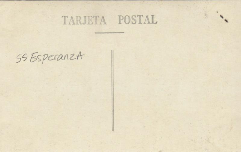 RP: S.S. ESPERANZA , Sinking , 1930-40s #2