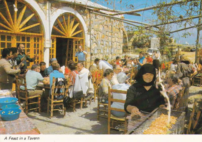 Cafe ,  CYPRUS , 50-60s