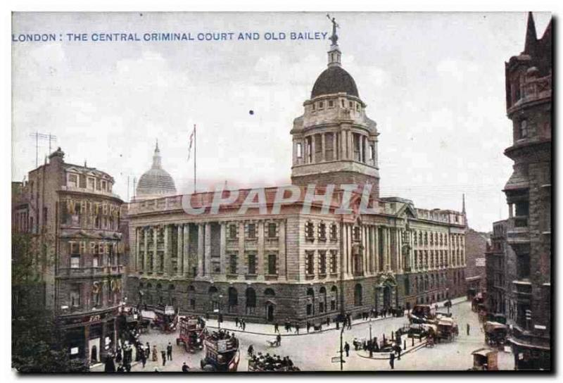 CPA London The Central Criminal Courts and Old Bailey