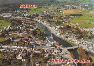Belgium Melreux Hotton sur Ourthe River Bridge Pont Panorama