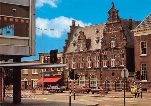 Netherlands Almelo Holland De Waag neo oud Hollandse Stijl Auto Cars