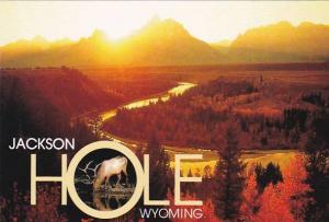 Wyoming Jackson Hole Snake River Bend Grand Teton National Park