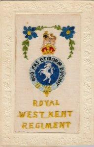 Royal West KENT Regiment , 00-10s ; UK ; Embroidered