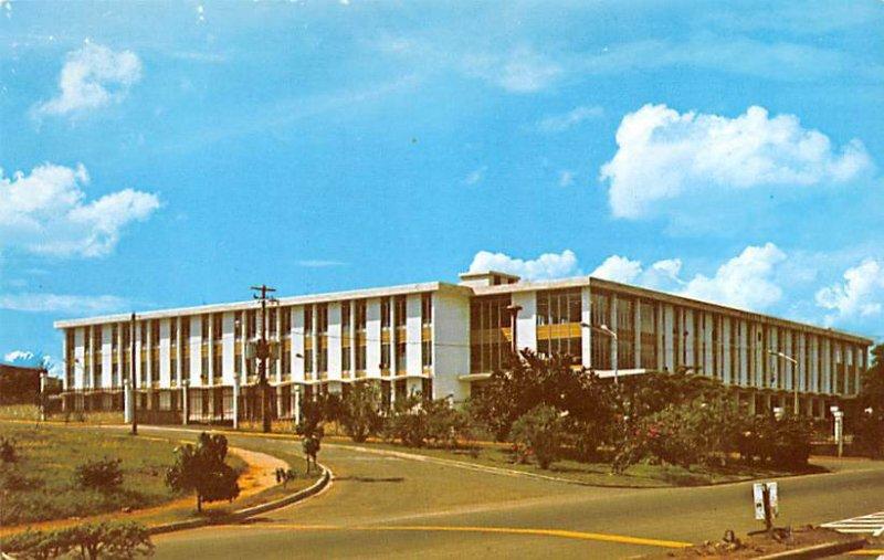 Government office municipal building Santiago Dominican Republic Unused
