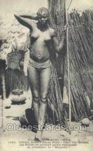Senegal African Nude Unused