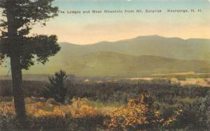 Kearsarge New Hampshire~Mt Surprise: The Ledges & Moat Mountain~1920s Handcolor