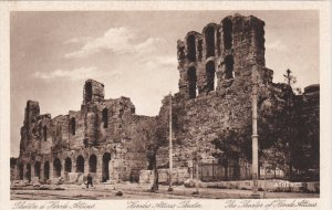 ATHENS, Greece; The Theater of Herode Atticus, 10-20s