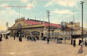 Atlantic City New Jersey~Youngs Pier-Boardwalk~Victorian Lady~Rolling Chairs~'12