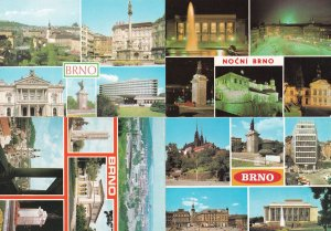 BRNO 4x Czech Republic Postcard incl Night 20x Views