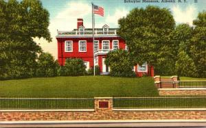 New York Albany The Schuyler Mansion