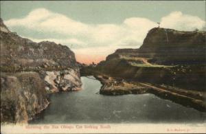 Panama - Bas Obispo Cut South c1905 Postcard