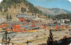F72/ Mullan Idaho Postcard 1958 Morning Mine Lead Zink Occupational