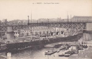 BREST , France , 00-10s ; La Grand Pont ouvert
