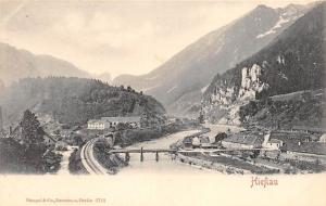 HIEFLAU AUSTRIA TOTAL VIEW POSTCARD c1910s