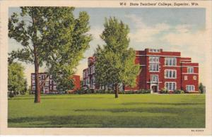 Wisconsin Superior State Teachers College 1940 Curteich