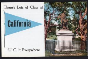 There's Lots of Class at California U.C. it Everywhere San Diego - Divided Back