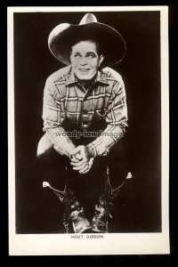 b1618 - Film Actor - Hoot Gibson - Picturegoer No.66a - postcard