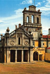 Portugal Evora Our Lady of Grace Church 16th Century Postcard