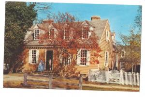 Williamsburg VA Brush Everard House Colonial Virginia