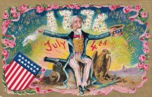 FOURTH of JULY , 1900-10s ; Uncle Sam
