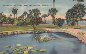 Florida Daytona Beach Footbridge Waterfront Park