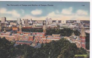 Florida Tampa Skyline and University Of Tampa