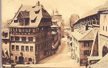 Germany - Albrecht Durer's House - Nurnberg 1910