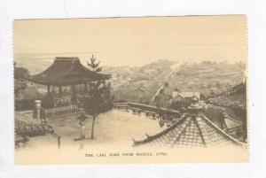 The Lake Biwa from Miidera, OTSU, Japan, PRE-1905