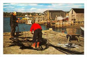 Fishing , Eastern Shore , Nova Scotia , Canada , 50-60s