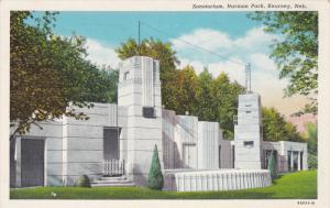 Sonotorium, Harmon Park, KEARNEY, Nebraska, 1930-1940s