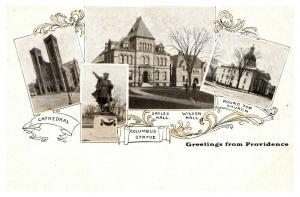 Rhode Island Providence , Greetings , Multi-View ,