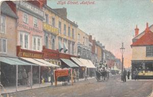 Ashford High Street Shops Horse Carriage Ride