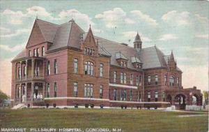 New Hampshire Concord Margaret Pillsbury Hospital