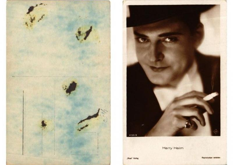 CPA AK Harry Halm Ross Verlag 4196/2 FILM STAR (549265)