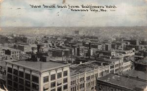Kansas City MO~Birdseye From Baltimore Hotel~Jones~Furniture~CU Williams 1910 PC
