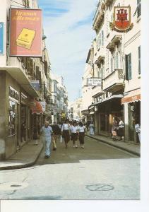 Postal 049932 : Gibraltar. Main Street