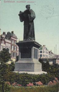 ROTTERDAM, Zuid-Holland, Netherlands, PU-1912; Standbeeld Erasmus