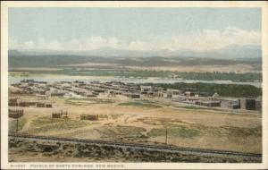 Fred Harvey H-1567 Pueblo of Santa Domingo NM c1910 Postcard