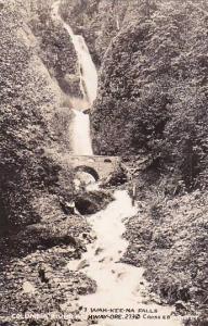 Oregon Columbia River Highway 7 Wah Kee Na Falls Real Photo
