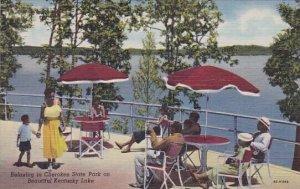 Relaxing In Cherokee State Park On Beautiful Kentucky Lake Paducah Kentucky