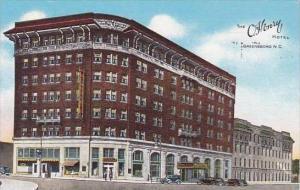 North Carolina Greensboro The O Henry Hotel 1945