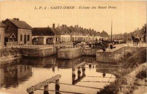 CPA St-OMER - Ecluse du Haut-Pont (976420)