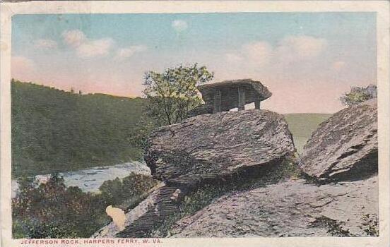 West Virginia Harpers Ferry Jefferson Rock