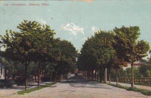 BEVERLY, Massahcusetts, PU-1907; Broadway