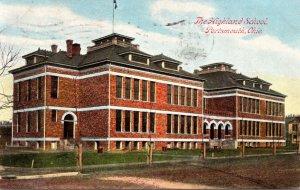 Ohio Portsmouth The Highland School 1908