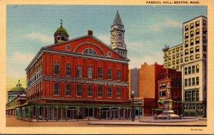 Massachusetts Boston Faneuil Hall Curteich