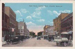 Kansas Chanute Main Street Looking West