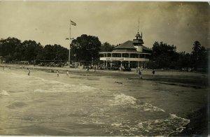 indonesia, JAVA BATAVIA, Bat. Jacht Club, Yacht Club (1910s) RPPC Postcard