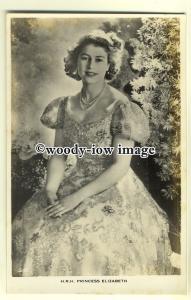 r0529 - Princess Elizabeth - postcard